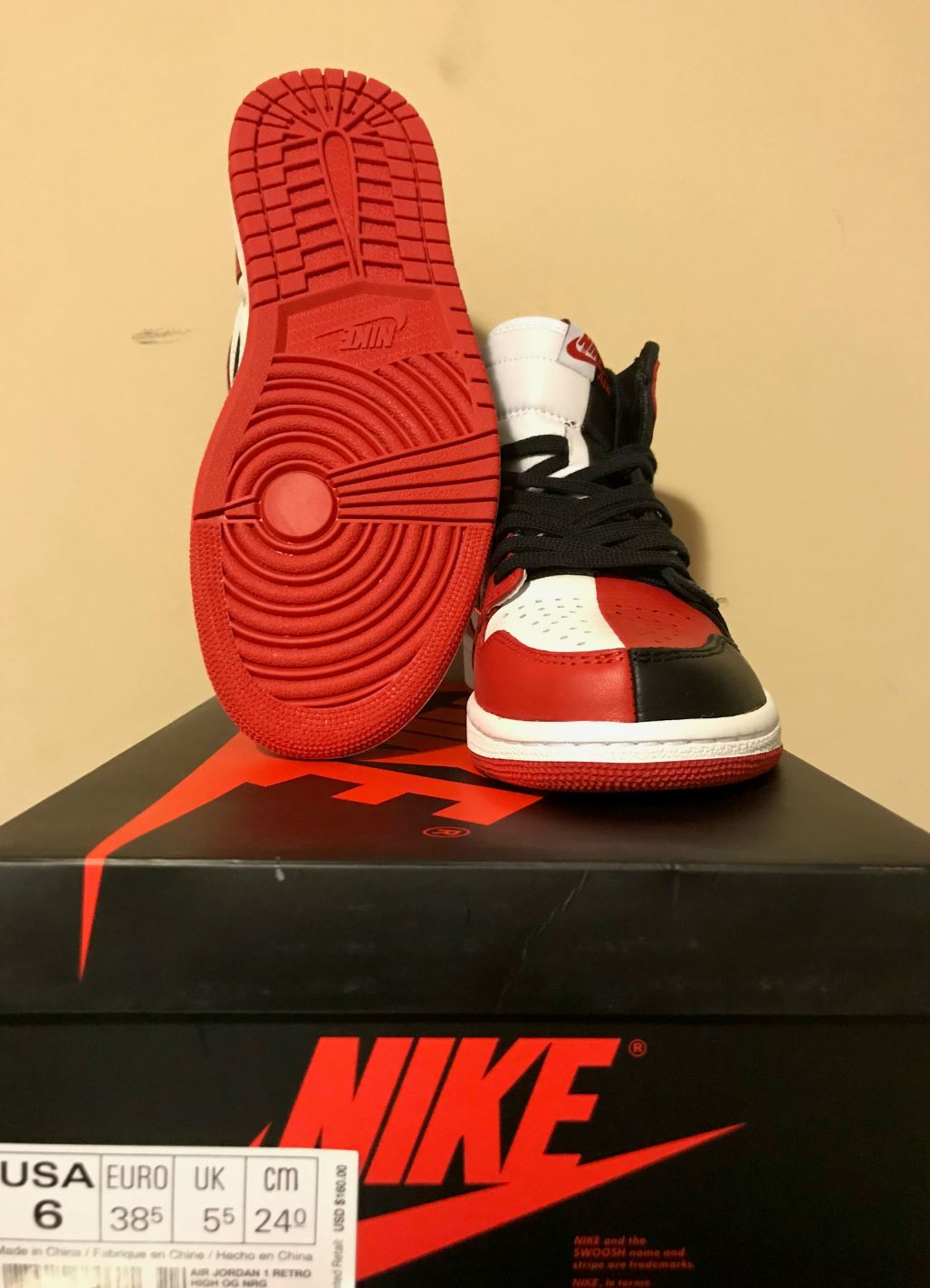 jordan 1 retro homage to home6