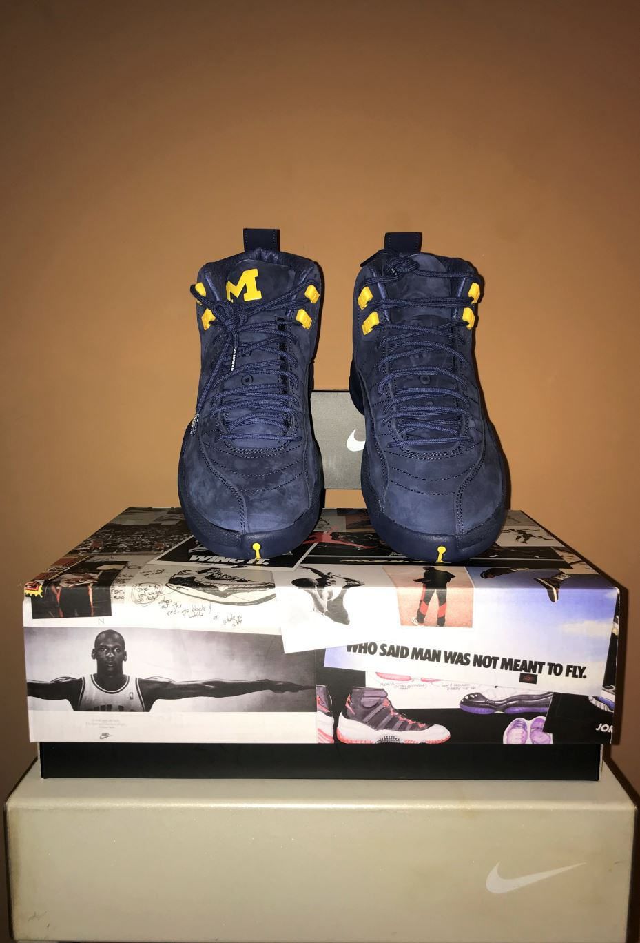 jordan 12 retro michigan 3