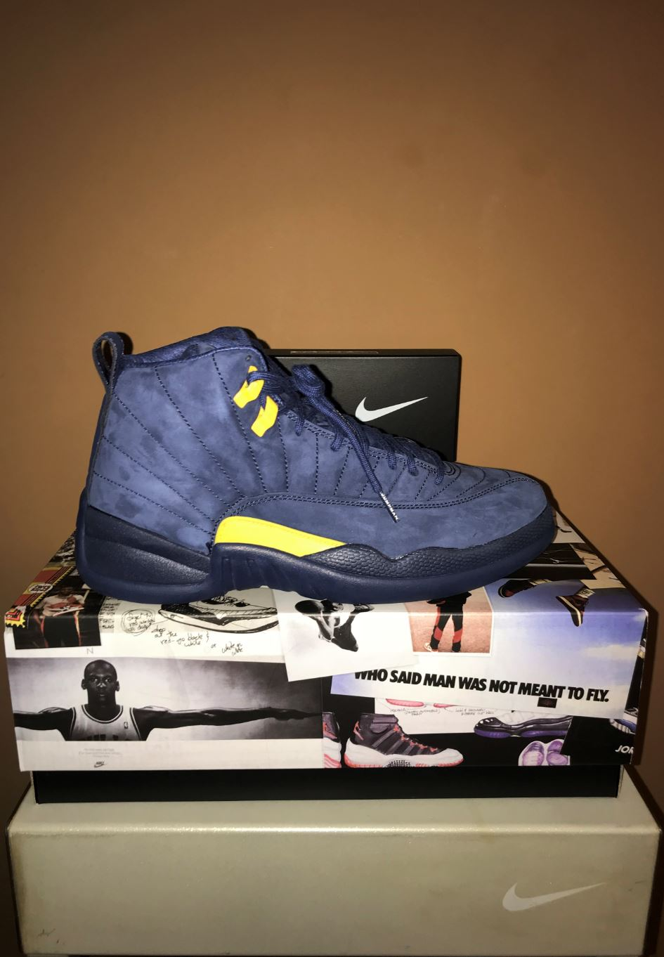 jordan 12 retro michigan 4